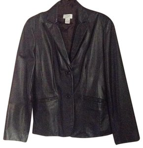 Ann Taylor LOFT Leather Jacket