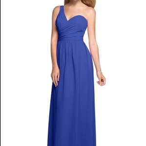 Alfred Angelo Cobalt Dress
