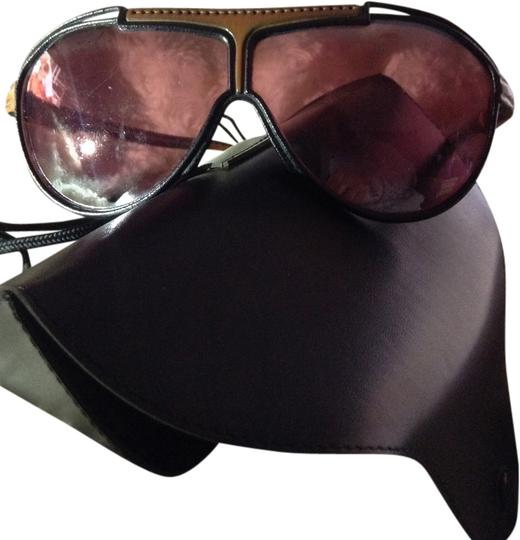 Preload https://item1.tradesy.com/images/ray-ban-blackbrown-rare-vintage-avaitorsshooter-ray-ban-s-all-leather-frame-sunglasses-1945400-0-0.jpg?width=440&height=440