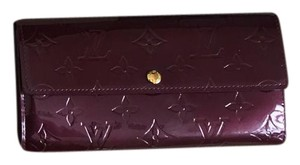 Louis Vuitton Vernis Sarah Wallet - Rouge Fauviste