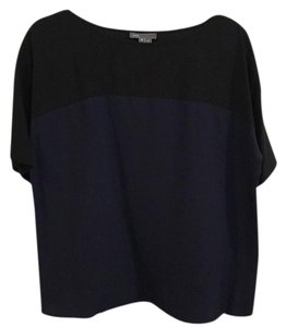 Vince Top Navy and black