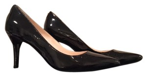 Cole Haan Patent Leather Classic Heel Black Pumps