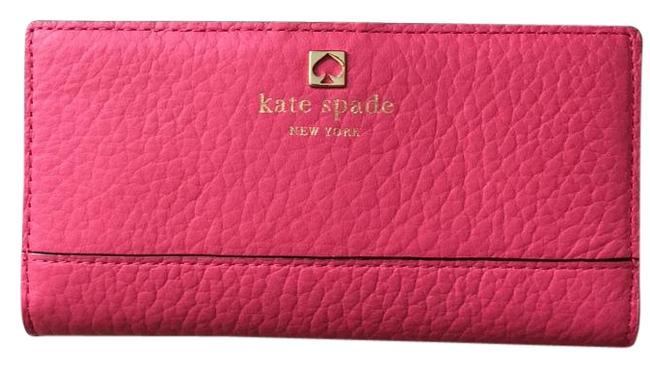 Item - Pink Stacy Southport Ave Wallet