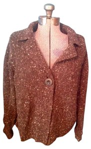 Karen Scott Wool Acrylic Button Cardigan