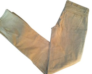 J.Crew City Fit City Vintage Cords Straight Pants Tan