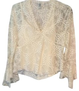 Laundry by Shelli Segal Top Cream
