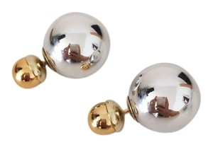 Dior AUTHENTIC Dior tribal erring in silver and gold color