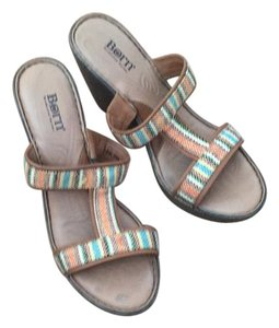 Børn Multi colored and brown Wedges