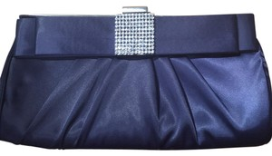 Lulu Townsend Navy Blue Clutch