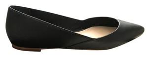 Loeffler Randall Classic Flat Leather Black Flats