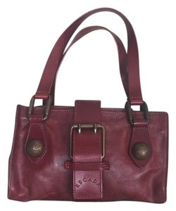 Escada Satchel in Burgundy