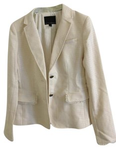 Banana Republic Nwt White Tall Cream Blazer