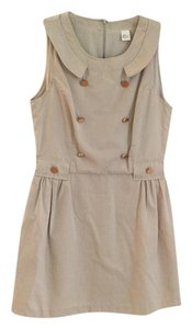 C. Luce short dress Beige on Tradesy
