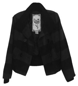 Forever Audrey Checkered Bomber Winter Coat