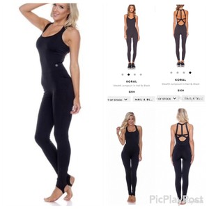 Activewear Criss Cross Jumpsuit