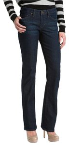 Jag Low Rise Casual Boot Cut Jeans-Dark Rinse