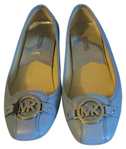 MICHAEL Michael Kors Light Blue Flats