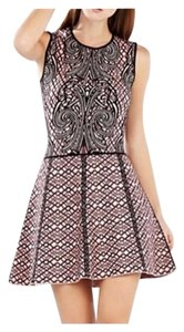 BCBGMAXAZRIA Jaquard Dress