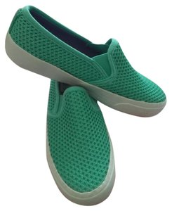 Airwalk Slip Ons Canvas Turquoise Flats