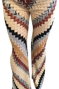Missoni Boot Cut Pants Creme, Rust, Black, Mustard, Grey,