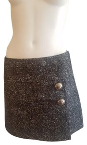 Moschino Mini Skirt Gray