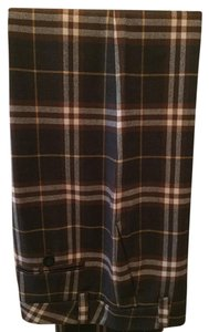 Burberry London Trouser Pants brown plaid