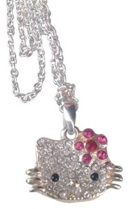 Hello Kitty AUTHENTIC HELLO KITTY SANRIO CRYSTAL NECKLACE