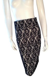 Worthington Skirt Black, White
