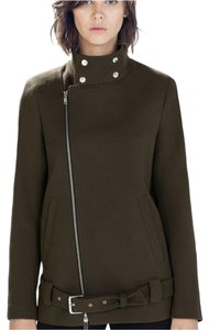 Zara Military Coat Boxy Military Jacket