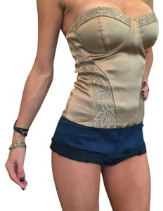 Marciano Top Bronze with silver in the lace