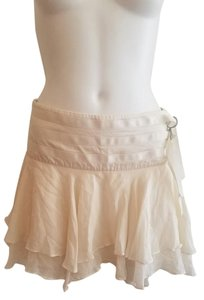bebe Mini Skirt Cream