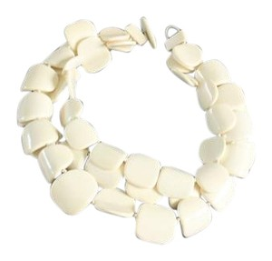 Iris Apfel New Iris Apfel White Necklace