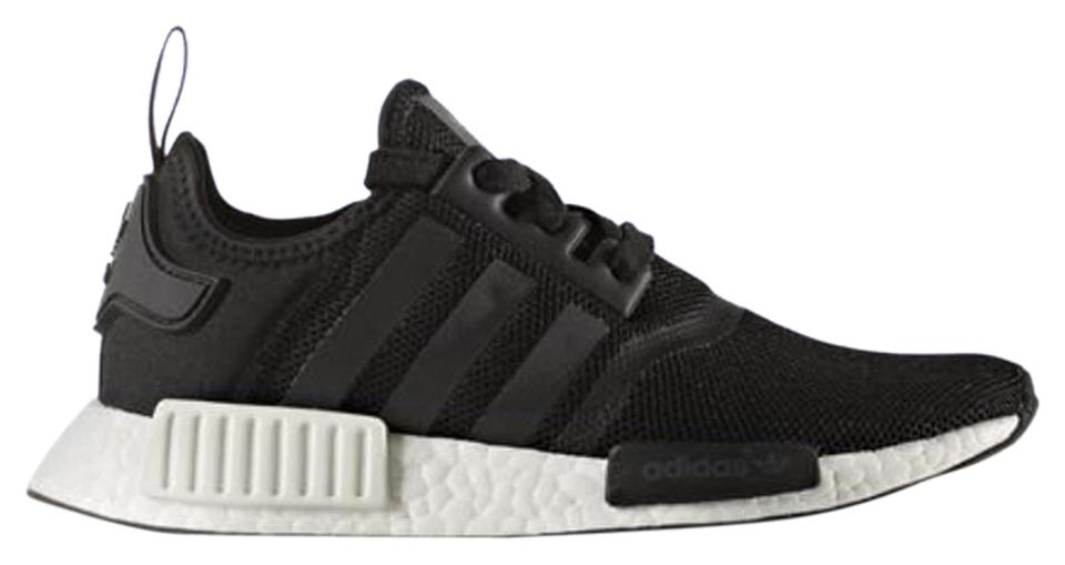 adidas BlackWhite Nmd R1 J Limited Exclusive Rare Yeezy Boost Youth Sneakers Size US 6.5 Regular (M, B)