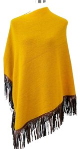 Fringed Sweater Cape