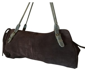 Hobo International Satchel in brown suede