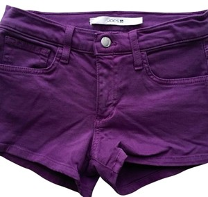 JOE'S Jeans Mini/Short Shorts Purple