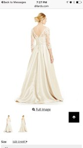 Madeline Gardner New York Lace Bodice Ballgown Wedding Dress