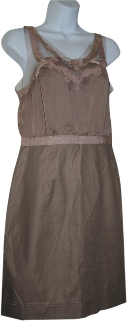 Preload https://item2.tradesy.com/images/ann-taylor-loft-tan-above-knee-night-out-dress-size-2-xs-1945631-0-0.jpg?width=400&height=650