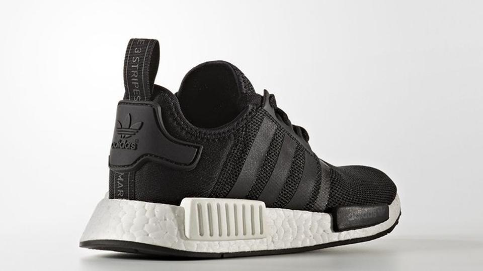 check out c89f5 20ed0 adidas Black/White Nmd R1 J Limited Exclusive Rare Yeezy Boost Youth  Sneakers Size US 7 Regular (M, B)