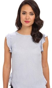 Rebecca Taylor Top Icy Blue