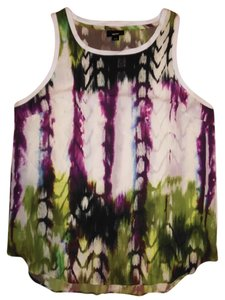 Mossimo Supply Co. Bohemian Hippie Gypsy Top White, Purple, Green, Black