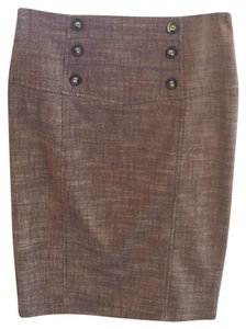 BCX Skirt Brownish- almost tweed looking