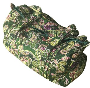 Vera Bradley Green Travel Bag