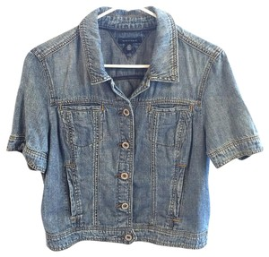 Tommy Hilfiger Button Down Shirt Washed blue jean look