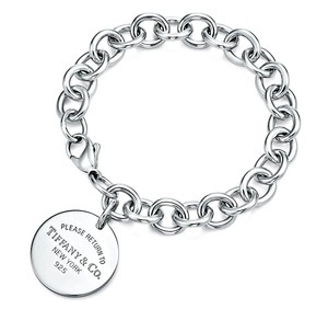 Tiffany & Co. Return To Tiffany Round Tag Bracelet Sterling Silver