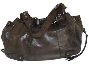 Francesco Biasia Tote in Green, Brown