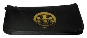Tory Burch Reva Clutch Convertable Clutch Gold Logo Shoulder Bag