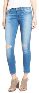 Rag & Bone Destroyed Skinny Jeans-Distressed