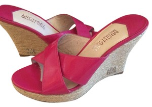 e10e762a98b Pink MICHAEL Michael Kors Wedges - Up to 90% off at Tradesy