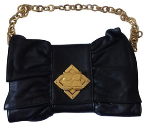 BCBGMAXAZRIA Black Clutch